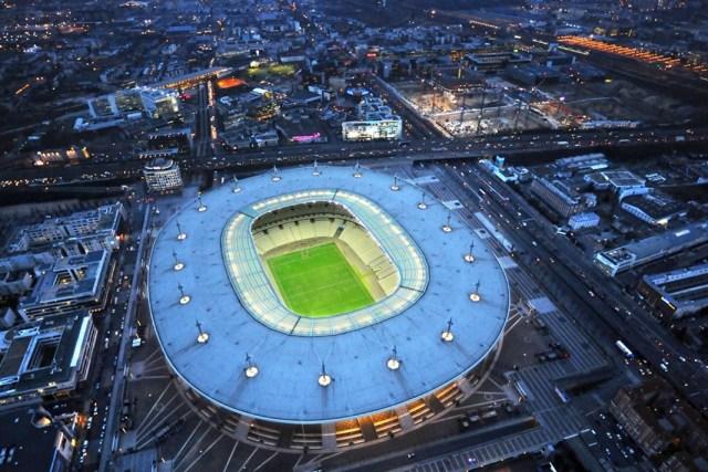 Sân vận động Stade de France nhìn từ trên cao