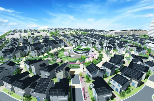 Mô hình ý tưởng của Đô thị thông minh Fujisawa