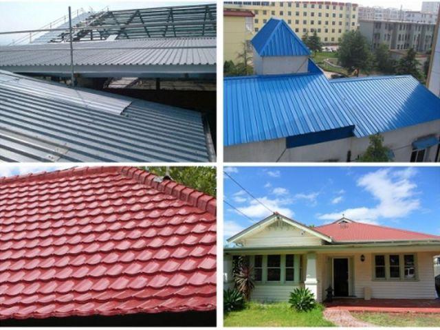 Một chi tiết quan trọng hàng đầu của ngôi nhà chính là mái nhà