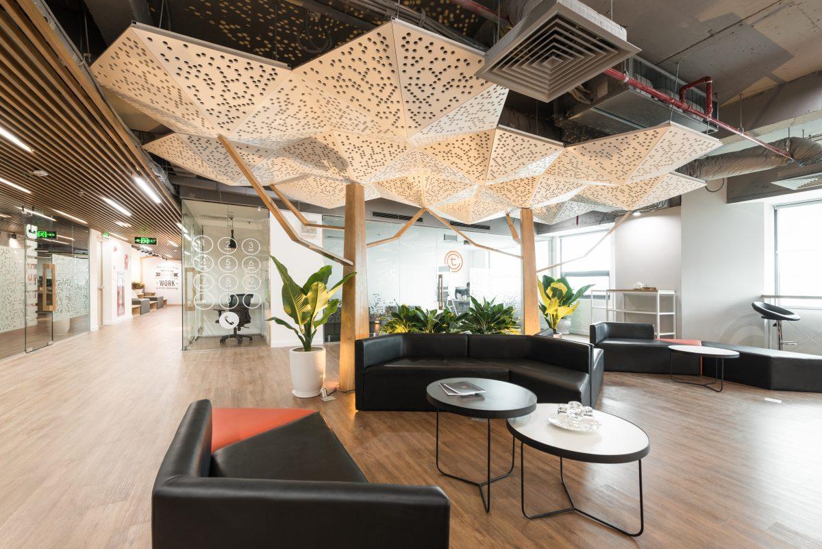 Văn phòng Tomochain – Tự do cho sáng tạo