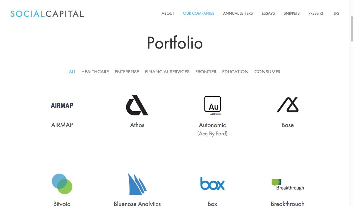 Kieran Chapman Design » Social + Capital Partnership