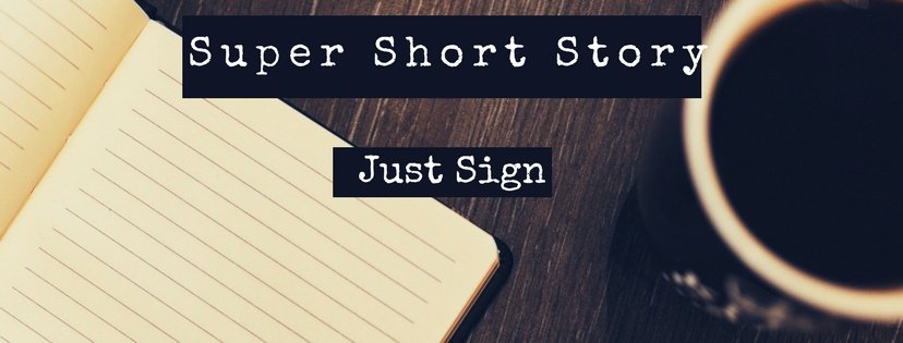 Just sign