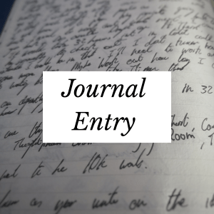 Journal Entry 001