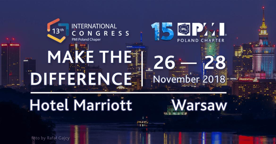 Przedstawiamy 13 Międzynarodowy Kongres PMI PC