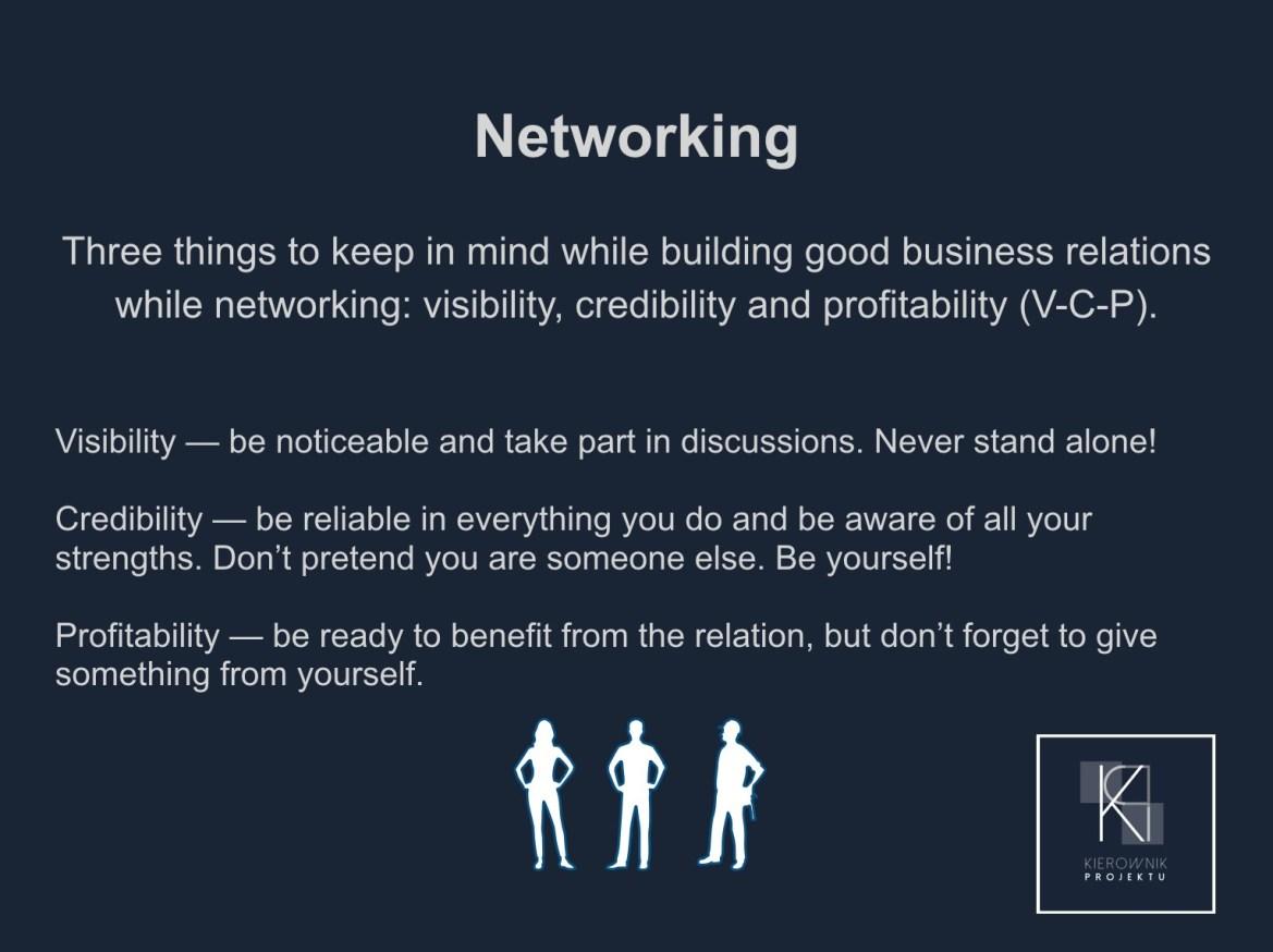 Wskazówka: Networking
