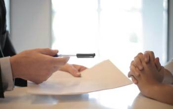 KN JOINT: https://www.pexels.com/photo/crop-businessman-giving-contract-to-woman-to-sign-3760067/