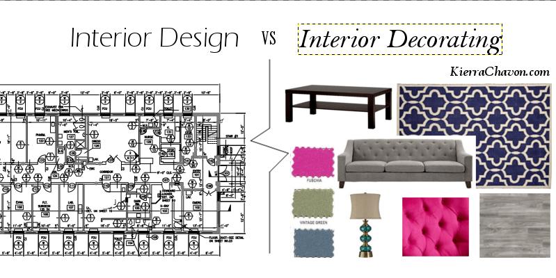 Interior Design VS Interior Decorating – K Chavon Designs