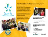 Sports Ambassador Brochure