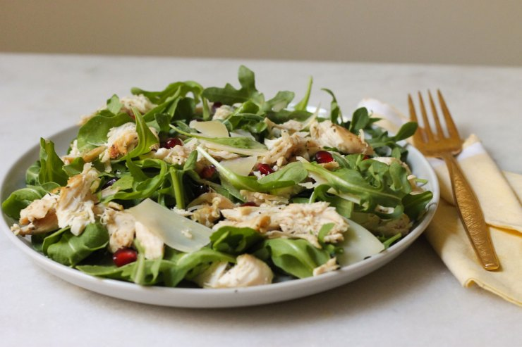 Easy 5 ingredient arugula salad recipe