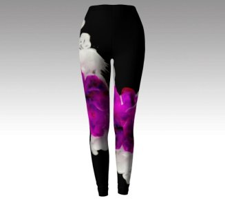 Raspberry cream leggings