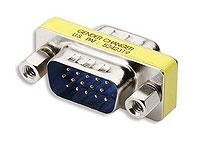 AD-LGC-H15MM VGA Adapter HD15 Male to HD15 Male