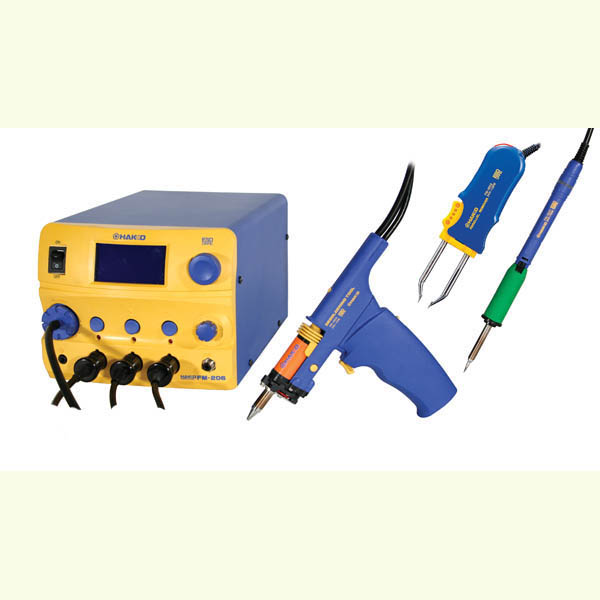 Hakko FM206-DTS 3-Port Rework Station