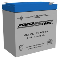 Powersonic PS-1250-F1 12V 5AH Battery