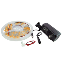 NTE 69-36A-KIT LED STRIP KIT AMBER 16.4FT 300 (3528) LEDS