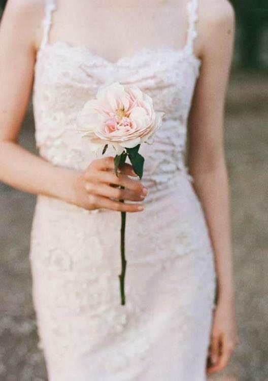 свадебный-букет-розы
