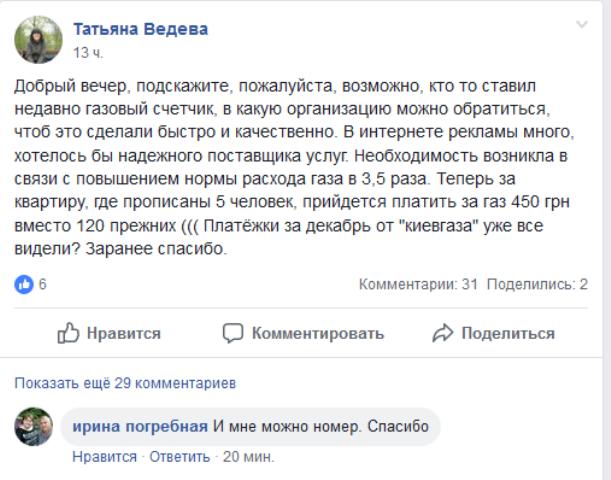 Що сталося з газом у Києві та в Україні?