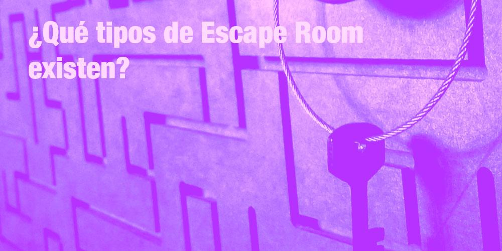 Tipos de Escape Room