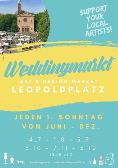 Weddingmarkt Berlin Leopoldplatz