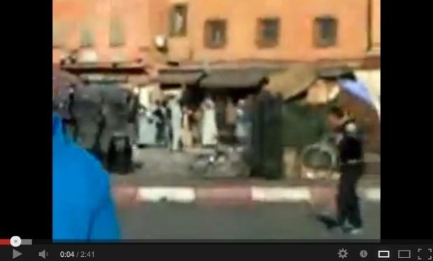 مراكش.. المواطن ضربو الضوو!!