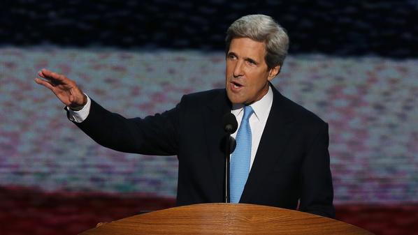 وزارة الخارجية الأمريكية.. أوباما يرشح جون كيري لخلافة هيلاري كلينتون