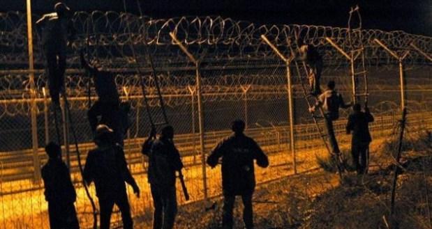 الناظور.. 300 مهاجر حاولوا اقتحام مليلية المحتلة