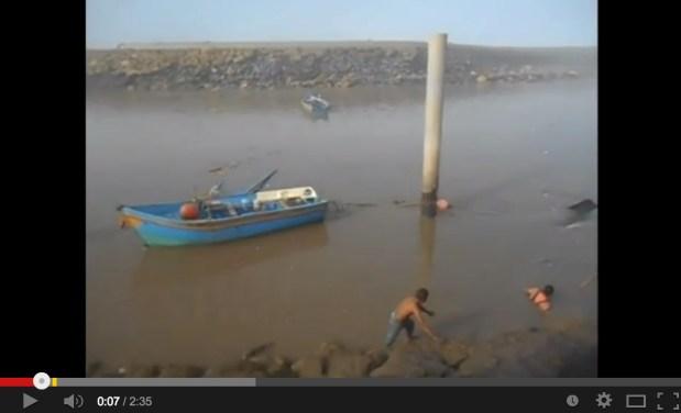 العاصفة البحرية.. الخسائر (فيديو)