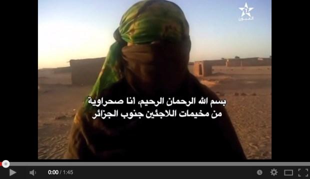 قناة العيون تخترق مخيمات تندوف.. سيدة تكشف أنها اغتصبت من طرف قائد في البوليساريو (فيديو)