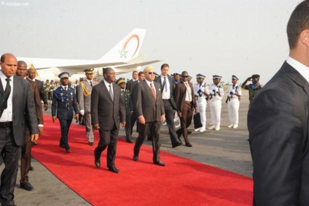 لشكر الملك محمد السادس.. رئيس ساحل العاجل سيزور المغرب