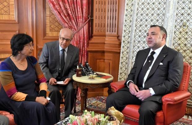 الدار البيضاء.. الملك يستقبل المفوضة السامية للأمم المتحدة لحقوق الإنسان