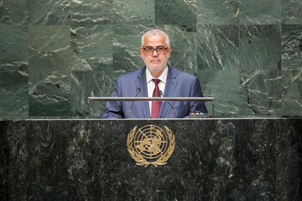 بنكيران: لم أطلع على رسالة الملك إلى الأمم المتحدة إلا يوم قرأتها (فيديو)
