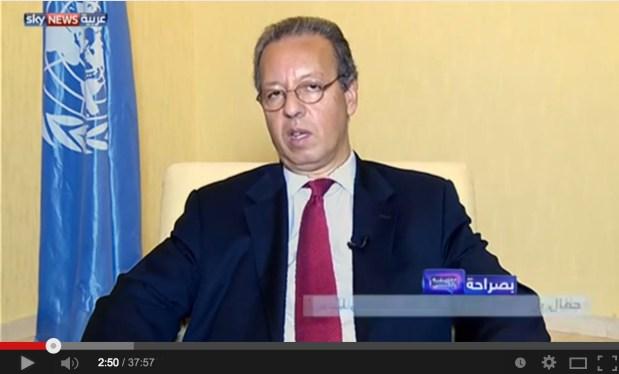 سكاي نيوز.. جمال بن عمر واليمن