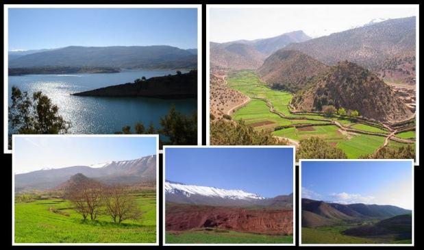 """تادلة أزيلال.. """"مكون"""" تهدي المغرب لقب أحسن الحدائق الجيولوجية العالمية"""
