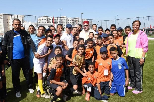 الدار البيضاء.. الملك يدشن مشاريع اجتماعية
