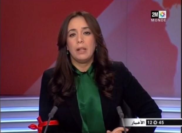 سابقة.. مذيعة دزويم تضع شارة الإضراب (فيديو)