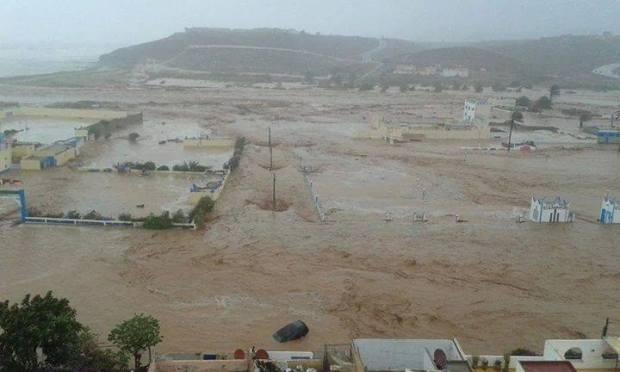 من ميناء أكادير.. بواخر لإغاثة سيدي إفني