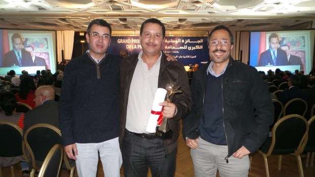 الجائزة الوطنية الكبرى للصحافة.. الأحداث المغربية في القمة (صور)