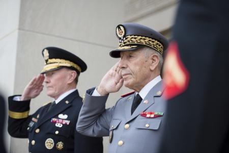 """في ظل """"برود"""" في العلاقات الديبلوماسية.. اجتماع عسكري بين المغرب وفرنسا"""
