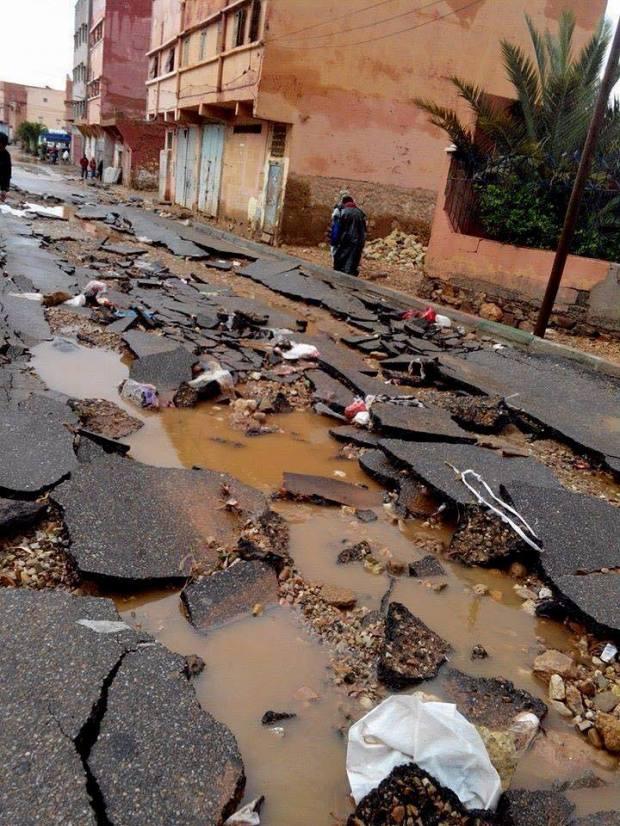 إضافة إلى عشرات الضحايا.. حوالي مليار درهم خسائر الفيضانات!!
