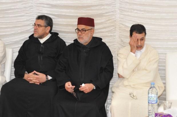 في وداع باها.. حزن العثماني وبنكيران والرميد (صور)