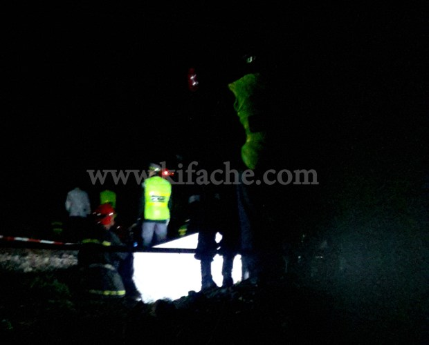 وفاة عبد الله باها.. صورة من مكان الحادث