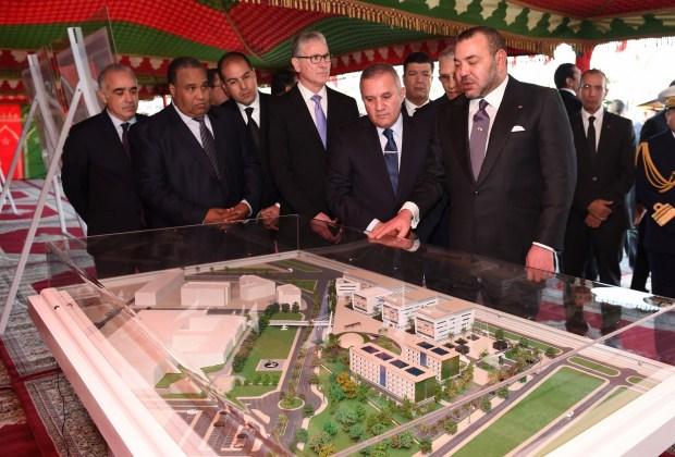 الدار البيضاء.. الملك يضع حجر الأساس لجامعة محمد السادس لعلوم الصحة