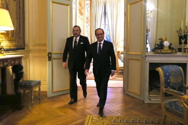 لقاء مع هولاند/ المركز الثقافي/ اتفاقية.. برنامج الملك في فرنسا اليوم