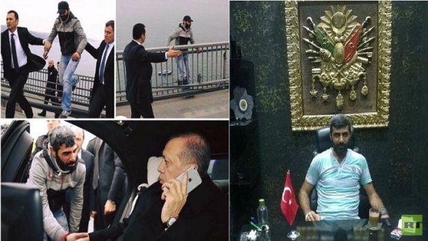 """الأتراك يفضحون """"مسرحية البوسفور"""".. أردوغان طلع ممثل (صور)"""