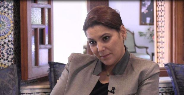 فاطمة الزهراء المنصوري تعترف: أنا مطلقة ولا علاقة للسياسة بطلاقي