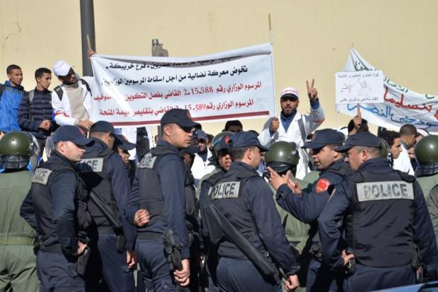 """مجلس النواب.. وزير الداخية يتهم """"منظمة راكم عارفينها"""" بتأجيج احتجاجات الأساتذة المتدربين"""