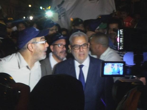 ألبوم الانتخابات.. ابن كيران في مسيرة ليلية