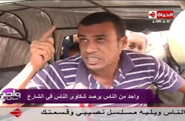 بسبب تصريح سائق توك توك.. توقيف مؤقت لبرنامج مصري!! (فيديو)