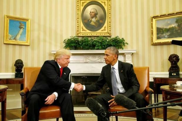 أوامر رئيس أمريكا.. ترامب داخل صحيح