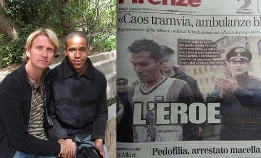 بشجاعتهما وإنسانيتهما.. هشام وتوفيق مغربيان أثارا إعجاب الإيطاليين