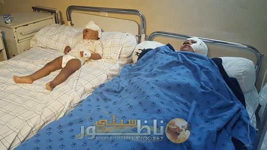زايو.. حوالي 20 مصابا في انقلاب حافلة (صور)